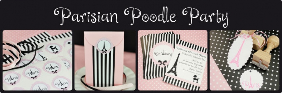 Parisian Poodle Party
