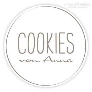 Aufkleber Cookies simple