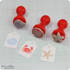 Mini Stempel Set Am Meer - Bild 2