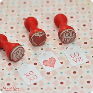 Mini Stempel Set LOVE - Bild 2