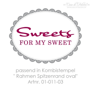 Textstempel Sweets for my Sweet - Bild 2