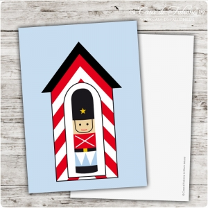 Postkarte Toy Soldier