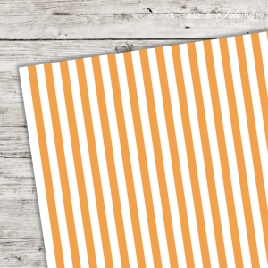A5 Karton Stripes orange