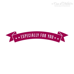 Textstempel Banner especially for you