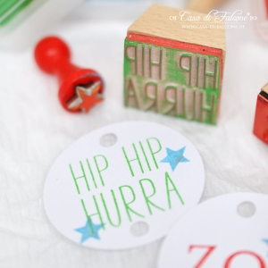 Textstempel Simple Hip Hip Hurra - Bild 4