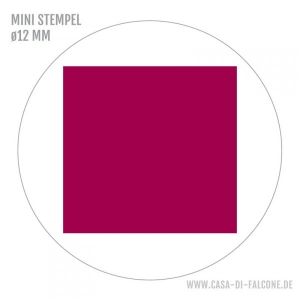 MINI Stempel Quadrat