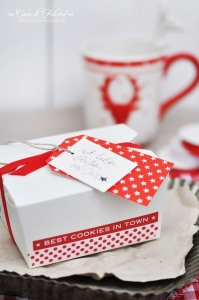 Textaufkleber - stretched - Best cookies in town - Bild 2