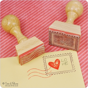 Motivstempel-Set Post