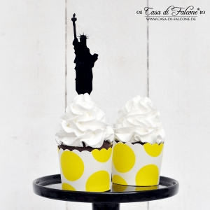 Cupcake topper Miss Liberty - Bild 2