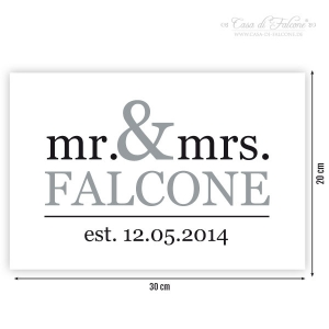 Poster mr. & mrs. - Bild 2