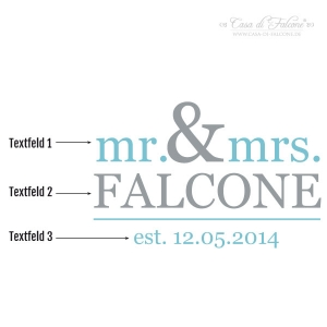 Poster mr. & mrs. - Bild 3