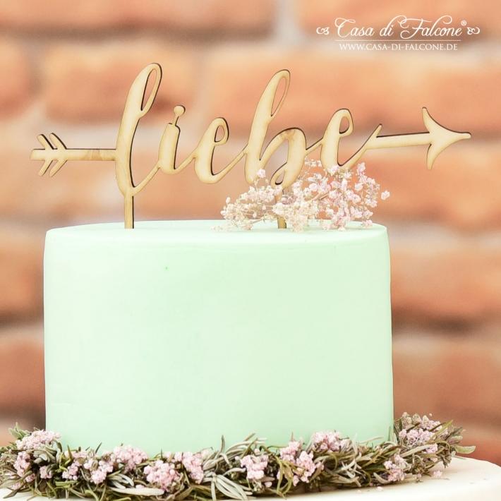 Hochzeit Cake Topper Aus Holz Liebe Pfeil Casa Di Falcone