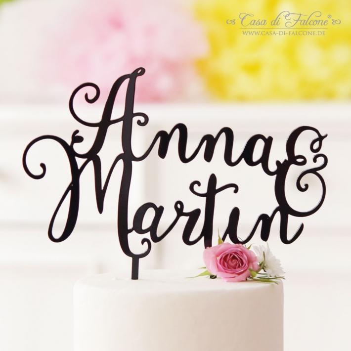 Personalisierter Hochzeit Cake Topper Aus Holz Oder Acryl I