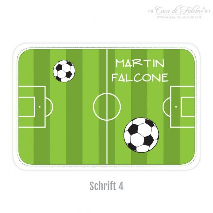 personalisierte brotdose i butterbrotdose fussball casa di falcone. Black Bedroom Furniture Sets. Home Design Ideas