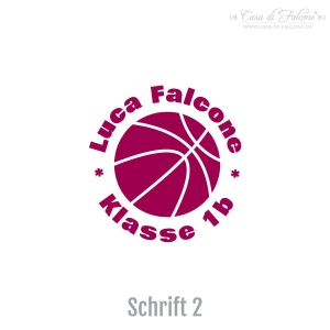 Namensstempel Basketball - Bild 3