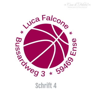 Teenager Adressstempel Basketball - Bild 5
