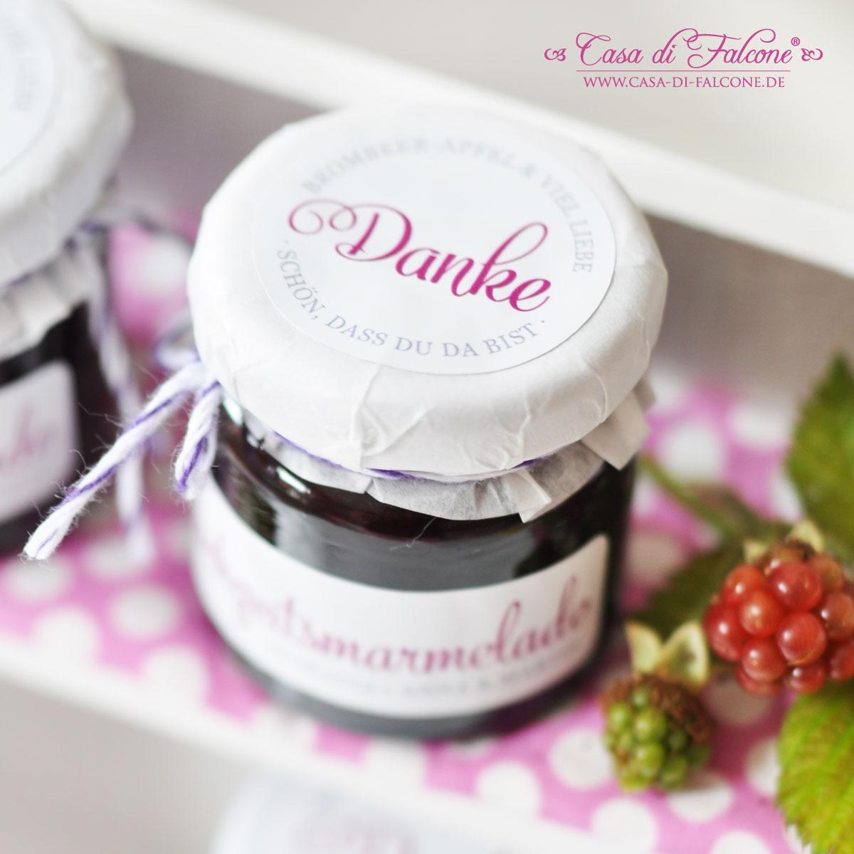 ... iii passend z b auf marmeladengläser und perfekt für gastgeschenke