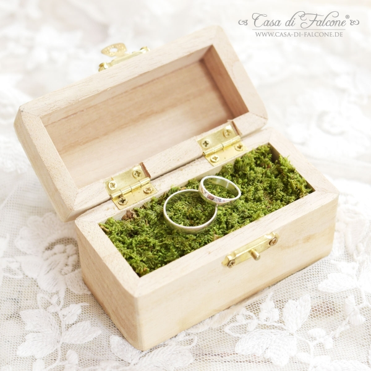 personalisiertes ringkissen ringbox mit holzgravur. Black Bedroom Furniture Sets. Home Design Ideas