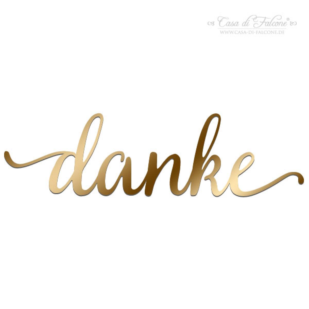 Hochzeit danke aufkleber gold kalligrafie casa di falcone for Folie drucken lassen