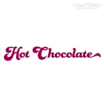 Textstempel Hot Chocolate