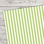 A5 Karton Stripes gr�n
