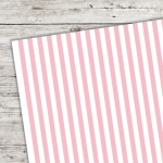 A5 Karton Stripes babyrosa