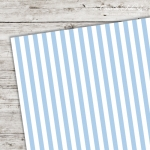 A5 Karton Stripes babyblau