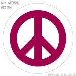 Mini Motivstempel Peace