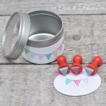 Mini Stempel Set Wimpel