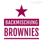 Motivstempel Backmischung Brownies