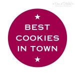 Motivstempel Best cookies in town