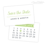 Personalisierte Save the Date Karten, Kalender